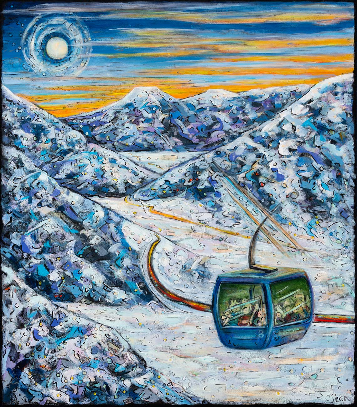 carol jean pine moon fine art steamboat springs