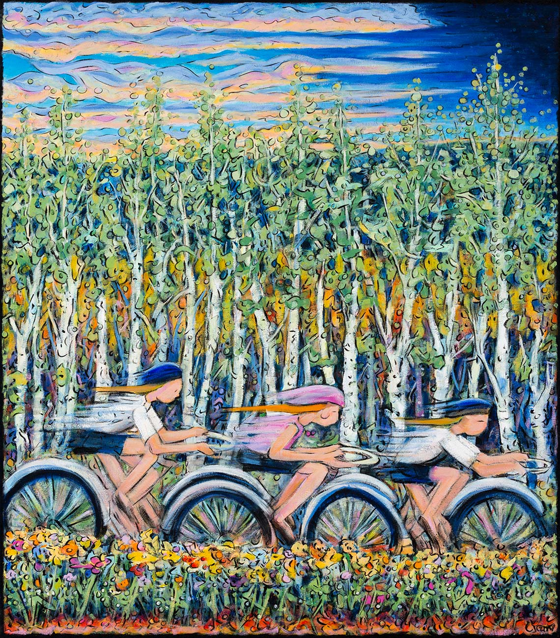 pine moon fine art carol jean steamboat springs